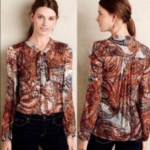 Anthr Meadow Rue blouse